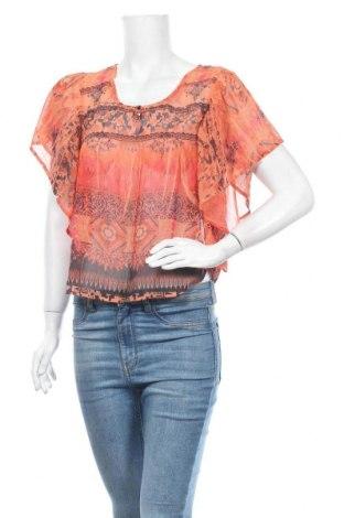 Дамска блуза One World, Размер M, Цвят Оранжев, Полиестер, Цена 7,14лв.