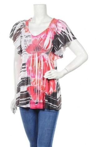 Дамска блуза One World, Размер S, Цвят Многоцветен, 94% полиестер, 6% еластан, Цена 15,17лв.