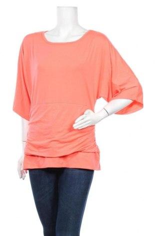 Дамска блуза Peter Nygard, Размер L, Цвят Розов, 62% полиестер, 33% вискоза, 5% еластан, Цена 4,84лв.