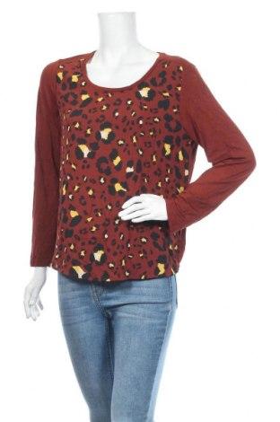 Дамска блуза Reitmans, Размер XL, Цвят Кафяв, Полиестер, Цена 3,92лв.