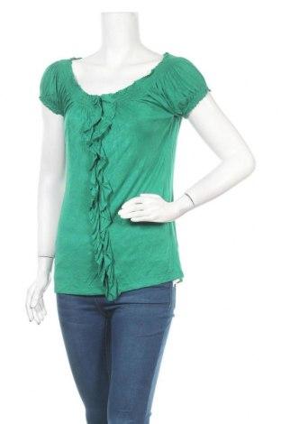 Дамска блуза Smart Set, Размер M, Цвят Зелен, 95% вискоза, 5% еластан, Цена 8,03лв.
