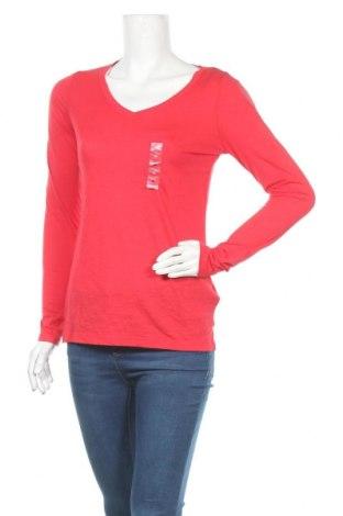 Дамска блуза So, Размер M, Цвят Червен, 60% памук, 40% полиестер, Цена 23,21лв.