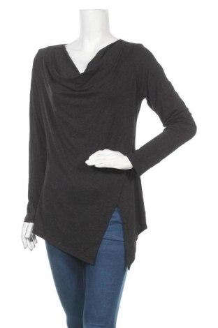 Дамска блуза Storm, Размер M, Цвят Сив, 77% вискоза, 17% полиестер, 6% еластан, Цена 4,46лв.