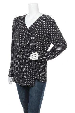 Дамска блуза Suzanne Grae, Размер XL, Цвят Черен, 96% полиестер, 4% еластан, Цена 6,62лв.
