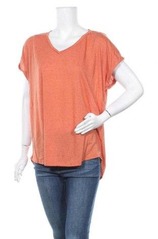 Γυναικεία μπλούζα Suzanne Grae, Μέγεθος XL, Χρώμα Πορτοκαλί, 84% πολυεστέρας, 14% λινό, Τιμή 9,87€