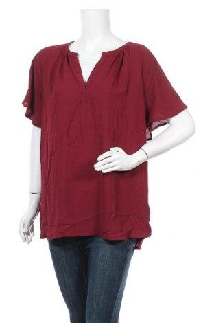 Γυναικεία μπλούζα Suzanne Grae, Μέγεθος XXL, Χρώμα Κόκκινο, Πολυεστέρας, Τιμή 11,11€