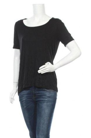 Дамска блуза Tahari, Размер M, Цвят Черен, 95% модал, 5% еластан, Цена 8,82лв.