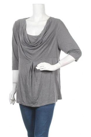 Дамска блуза Thyme, Размер XL, Цвят Сив, 65% полиестер, 354% вискоза, Цена 10,71лв.