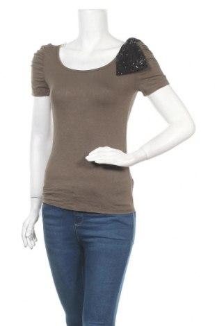 Дамска блуза Twik, Размер M, Цвят Зелен, 95% вискоза, 5% еластан, Цена 10,71лв.