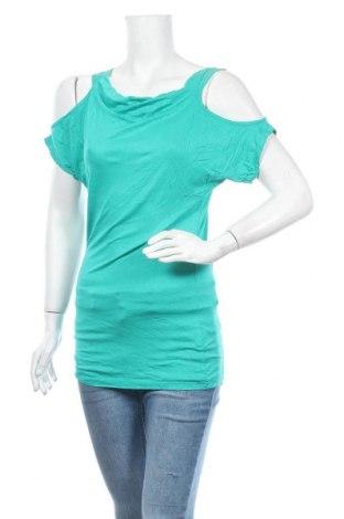 Дамска блуза Venus, Размер S, Цвят Зелен, 96% вискоза, 4% еластан, Цена 6,62лв.