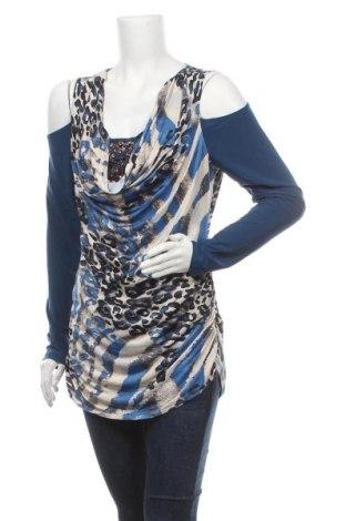 Дамска блуза Venus, Размер XL, Цвят Многоцветен, 95% полиестер, 5% еластан, Цена 16,07лв.