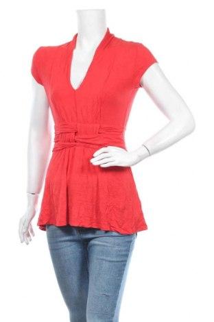 Дамска блуза Venus, Размер S, Цвят Червен, 96% вискоза, 4% еластан, Цена 17,01лв.