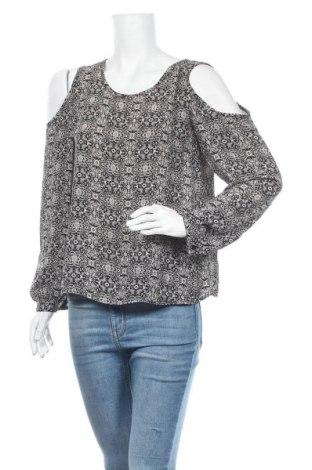 Дамска блуза Xhilaration, Размер M, Цвят Черен, Полиестер, Цена 6,61лв.