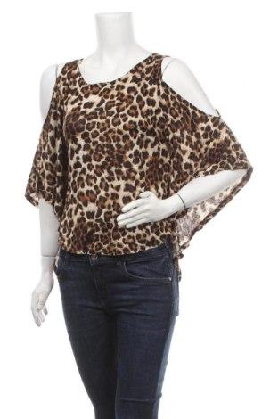 Дамска блуза Xxi, Размер M, Цвят Многоцветен, Вискоза, Цена 8,40лв.