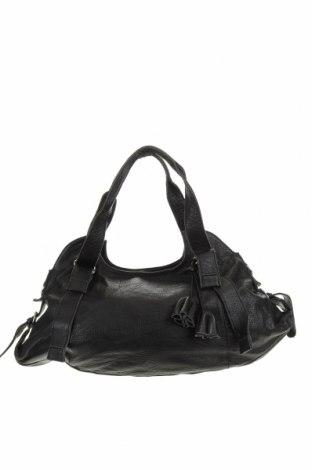 Дамска чанта, Цвят Черен, Естествена кожа, Цена 15,49лв.