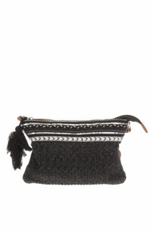 Дамска чанта, Цвят Сив, Текстил, Цена 8,82лв.
