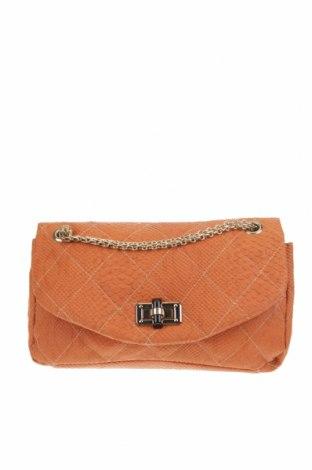 Дамска чанта, Цвят Оранжев, Еко кожа, Цена 37,80лв.