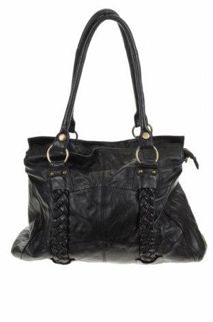 Дамска чанта, Цвят Черен, Естествена кожа, Цена 63,84лв.