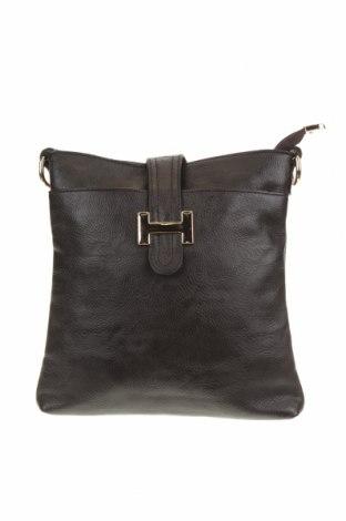 Дамска чанта, Цвят Кафяв, Еко кожа, Цена 19,64лв.