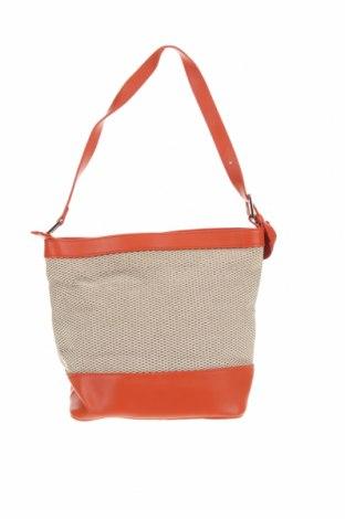 Дамска чанта, Цвят Многоцветен, Текстил, еко кожа, Цена 19,64лв.