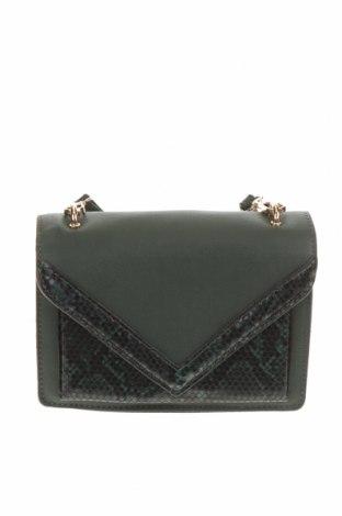 Дамска чанта, Цвят Зелен, Еко кожа, Цена 28,56лв.