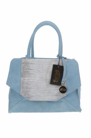 Дамска чанта, Цвят Син, Еко кожа, Цена 44,10лв.