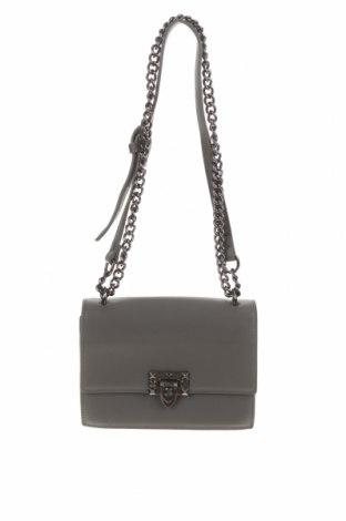 Дамска чанта, Цвят Сив, Еко кожа, Цена 23,94лв.