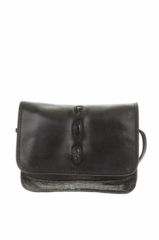 Дамска чанта, Цвят Черен, Естествена кожа, Цена 18,01лв.