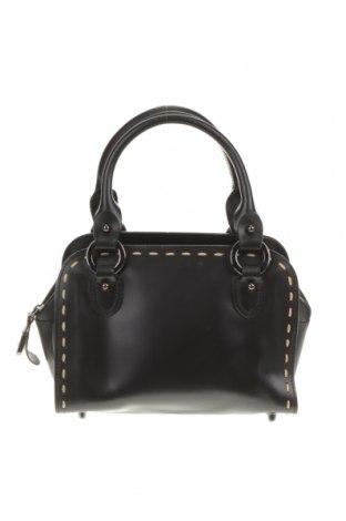 Дамска чанта, Цвят Черен, Естествена кожа, Цена 42,53лв.