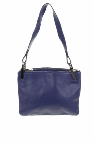 Дамска чанта, Цвят Лилав, Естествена кожа, Цена 29,93лв.