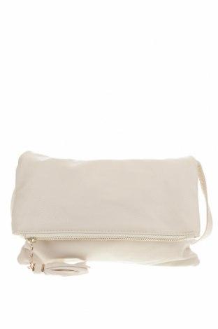 Дамска чанта, Цвят Екрю, Еко кожа, Цена 10,66лв.