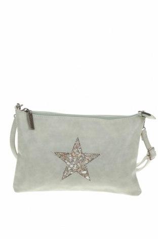 Дамска чанта, Цвят Зелен, Еко кожа, Цена 21,32лв.