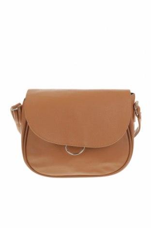 Дамска чанта, Цвят Кафяв, Еко кожа, Цена 20,58лв.