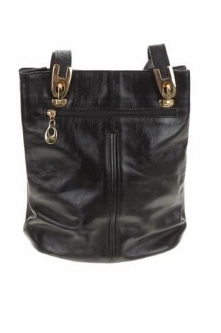 Дамска чанта, Цвят Черен, Естествена кожа, Цена 60,48лв.