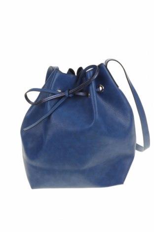 Дамска чанта, Цвят Син, Еко кожа, Цена 27,41лв.