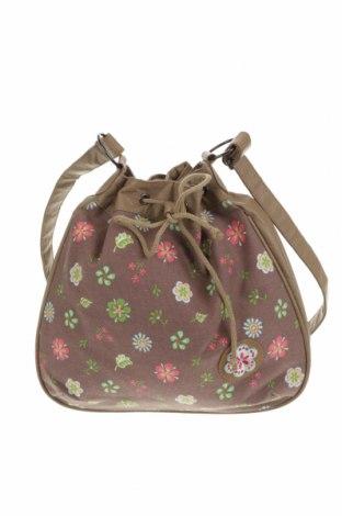 Дамска чанта, Цвят Многоцветен, Текстил, еко кожа, Цена 25,94лв.