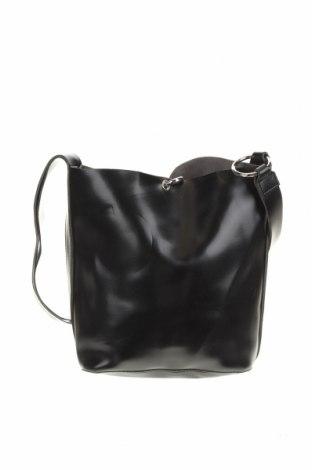 Дамска чанта, Цвят Черен, Еко кожа, Цена 25,52лв.