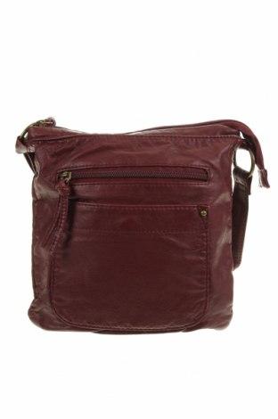 Дамска чанта, Цвят Червен, Еко кожа, Цена 25,20лв.