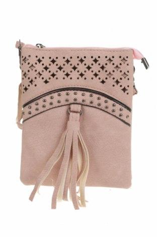 Дамска чанта, Цвят Розов, Еко кожа, Цена 25,20лв.