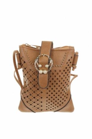 Дамска чанта, Цвят Бежов, Еко кожа, Цена 6,83лв.