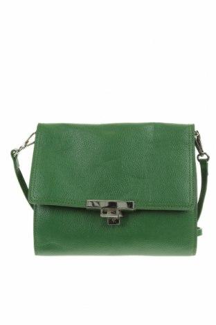 Дамска чанта, Цвят Зелен, Еко кожа, Цена 29,40лв.