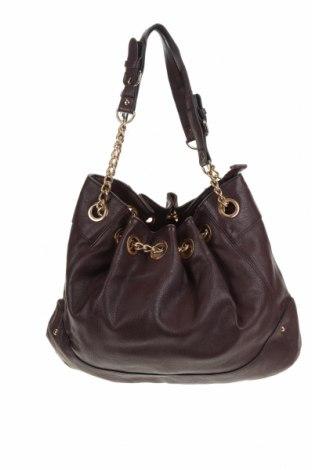 Дамска чанта, Цвят Лилав, Еко кожа, Цена 21,95лв.