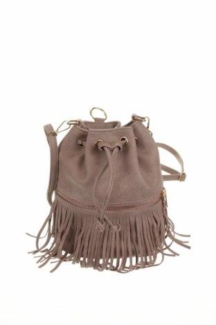 Дамска чанта, Цвят Пепел от рози, Еко кожа, Цена 10,66лв.