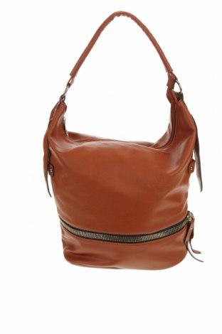 Дамска чанта, Цвят Кафяв, Еко кожа, Цена 19,11лв.