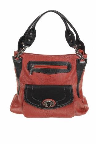 Дамска чанта, Цвят Червен, Еко кожа, Цена 27,30лв.