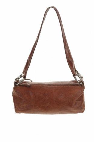 Дамска чанта Aldo, Цвят Кафяв, Естествена кожа, Цена 28,62лв.