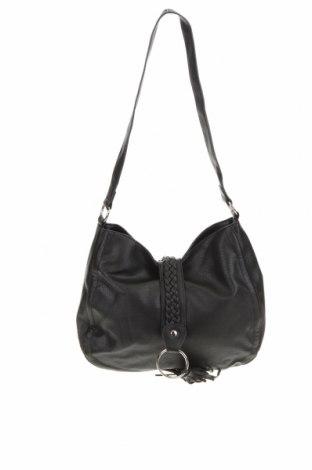 Дамска чанта Amber Rose, Цвят Черен, Еко кожа, Цена 23,52лв.