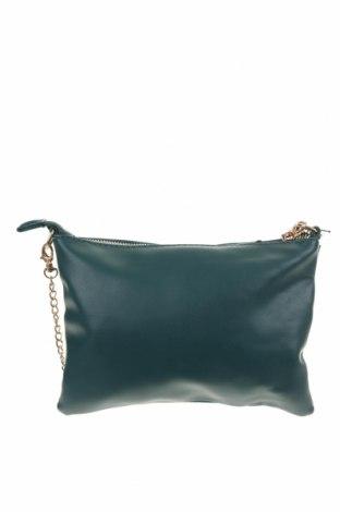 Дамска чанта Anko, Цвят Зелен, Еко кожа, Цена 14,33лв.