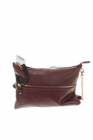 Дамска чанта Anko, Цвят Червен, Еко кожа, Цена 13,97лв.