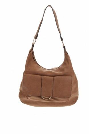 Дамска чанта Anko, Цвят Кафяв, Еко кожа, Цена 19,95лв.